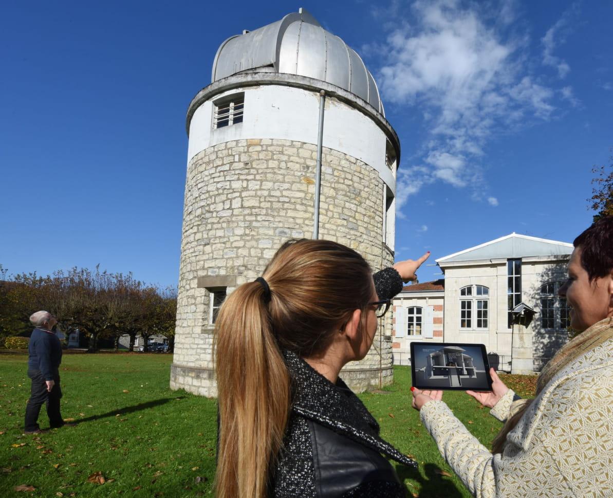 Pénétrer virtuellement au cœur de l'observatoire