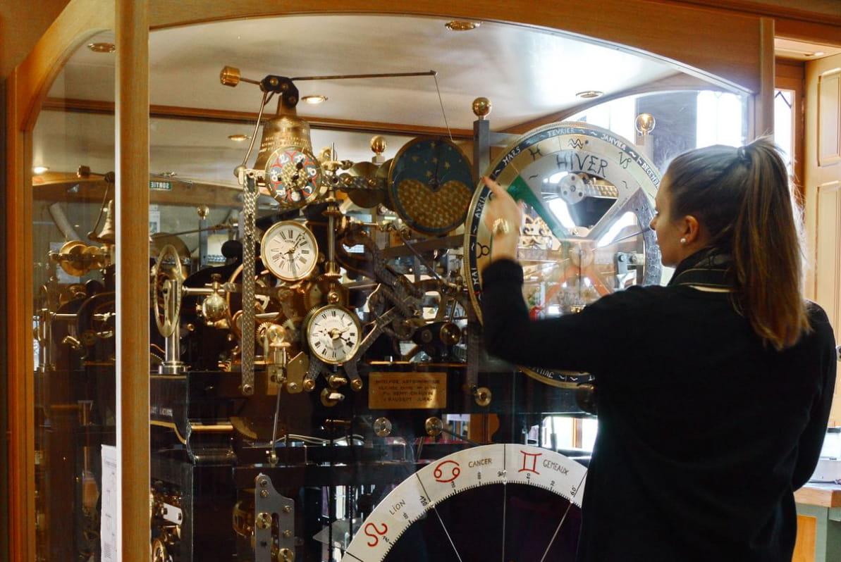 Le Musée de l'Horlogerie à Morteau