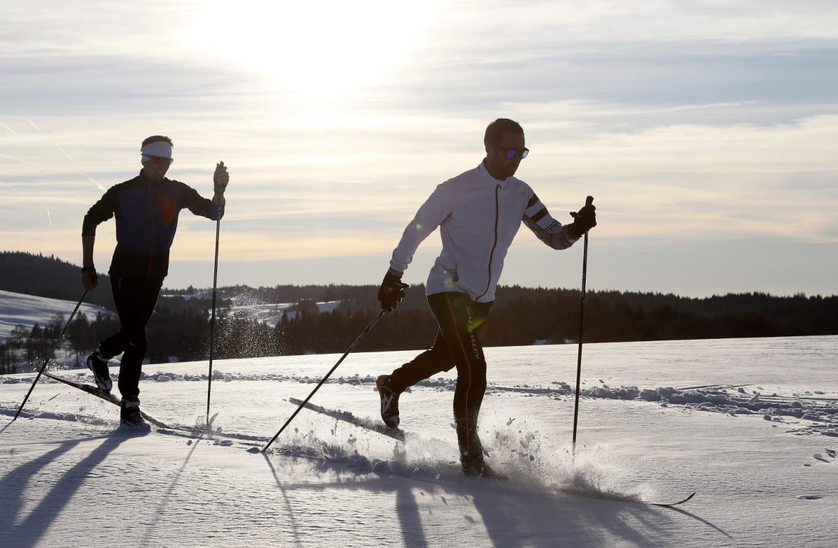 Ski de fond dans Montagnes du Jura