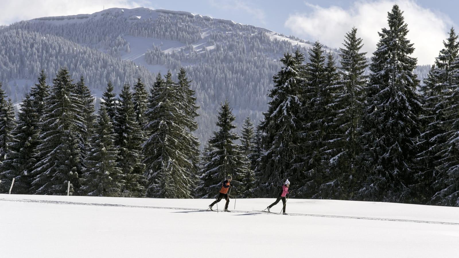 Ski de fond aux Fourgs