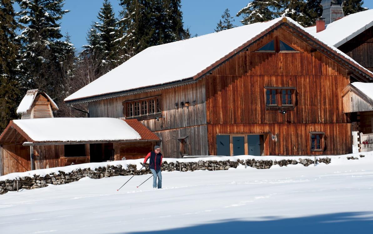 Ski de fond Morteau